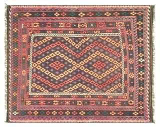 "Afghan Kilim, 7'5"" x 8'10"" - One Kings Lane"