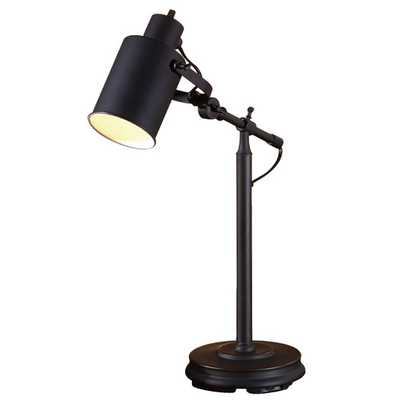 "22.5"" Table Lamp with Drum Shade - AllModern"