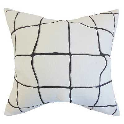 The Pillow Collection Bold Plaid Decorative Pillow - 20 x 20 - Target