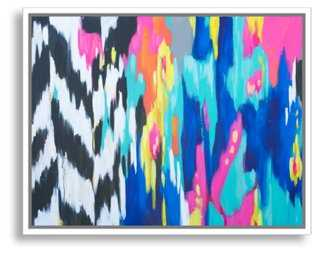 Kristy Gammill, Pink and Blue Abstract - One Kings Lane