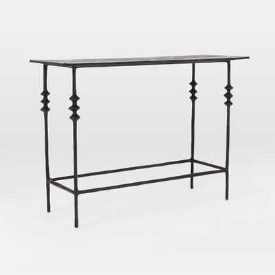 Papier-Mache Console - Black - West Elm