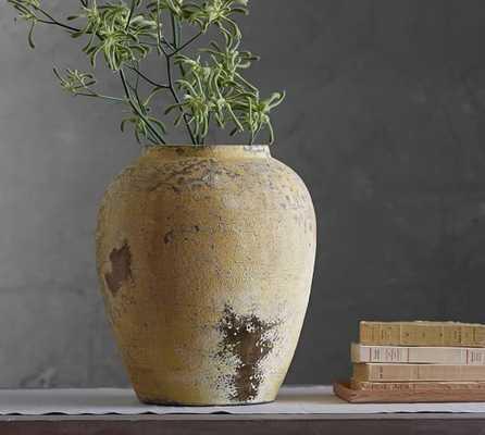 CAMILLA YELLOW VASE - Pottery Barn