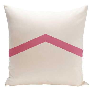 """Beatrix Throw Pillow-18"""" x 18"""" -Petal-Polyfill - Wayfair"""