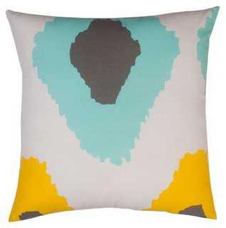 Ikat 20x20 Cotton Pillow - One Kings Lane