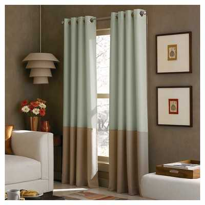 Curtainworks Kendall Lined Curtain Panel - Target