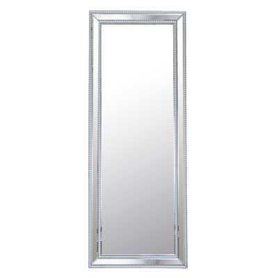Rectangle Studded Leaning Floor Mirror - Wayfair