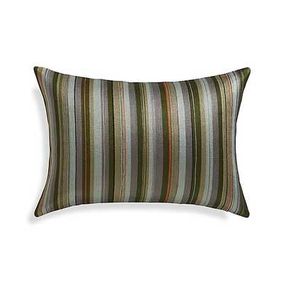 "Kendrick 18""x12"" Pillow with Feather-Down Insert - Crate and Barrel"