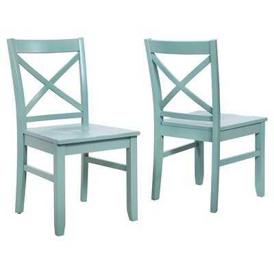 "Thresholdâ""¢ Carey Dining Chair (Set of 2) - Target"