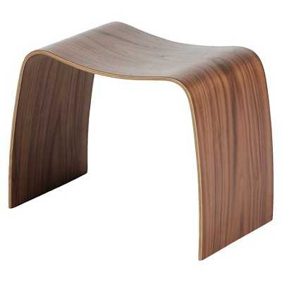 Control Brand Lille Stacking Stool - Walnut - Target