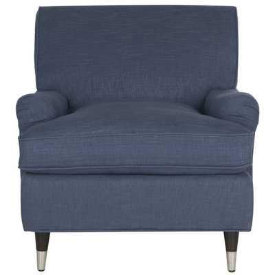 Safavieh Chloe Navy Club Chair - Overstock