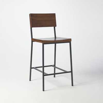 Rustic Counter Stool- Individual - West Elm