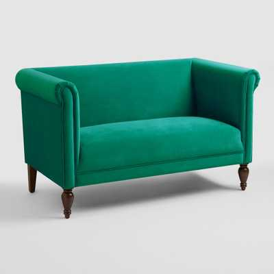 Emerald Marian Loveseat - World Market/Cost Plus
