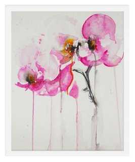 Karin Johannesson, Orchid Study IX, framed - One Kings Lane