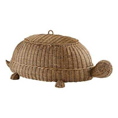 Half Shell Turtle Floor Bin - Land of Nod