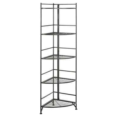 5 Tier Folding Metal Corner Shelf - Target