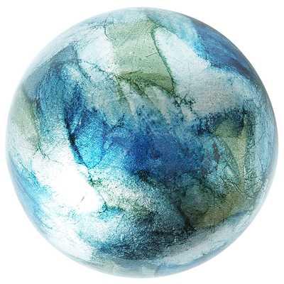 Foil Sphere - Blue & Green - Pier 1