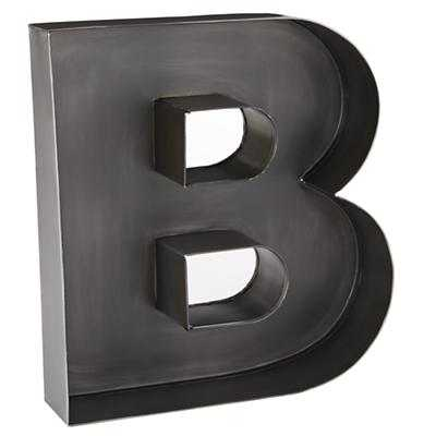 B Magnificent Metal Letter - Land of Nod