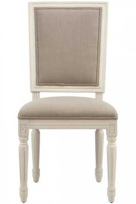 French Square Side Chairs - Set of 2 - Home Decorators