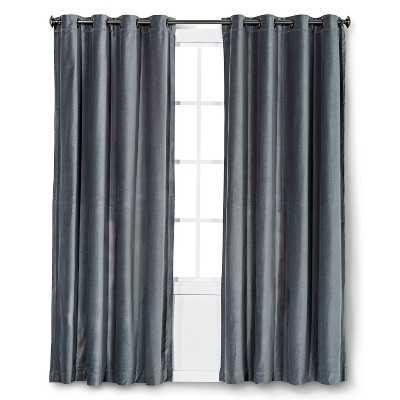 """Thresholdâ""""¢ Velvet Curtain Panel-54x84'' - Target"""