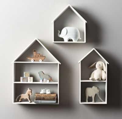 petite house shelving - medium - RH Baby & Child