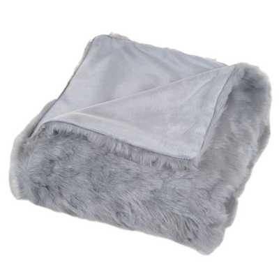 Faux Fur Throw Blanket - AllModern