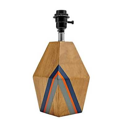 Natural Color Table Lamp Base - Land of Nod