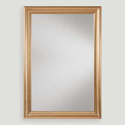Gold Metal Framed Rectangular Mirror - World Market/Cost Plus