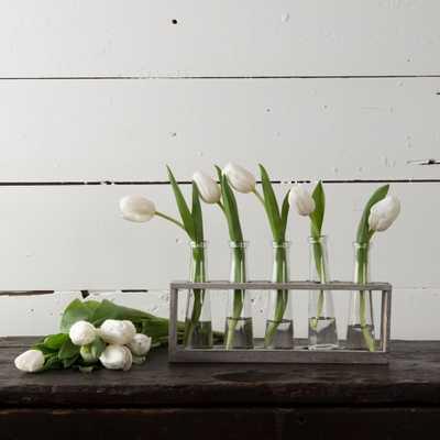 DISTRESSED VASE HOLDER - shop.magnoliamarket.com