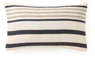 Ribbon Cotton Pillow - One Kings Lane