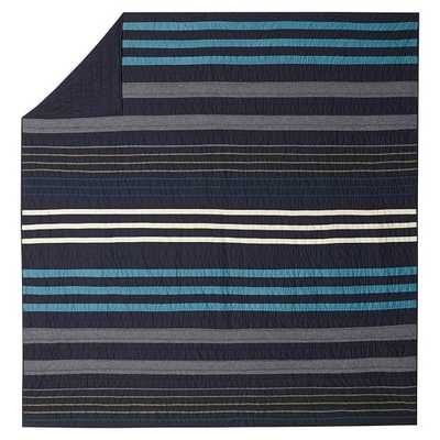 Laid Back Stripes Quilt - Twin - Pottery Barn Teen