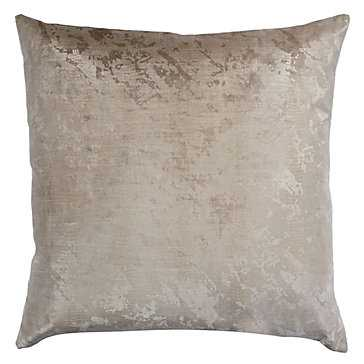 "Cleo Pillow 24"" - Ivory - Feather/down insert - Z Gallerie"