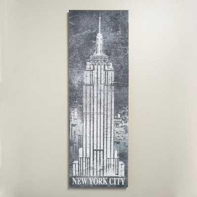 """New York City Chalk Art"" - World Market/Cost Plus"