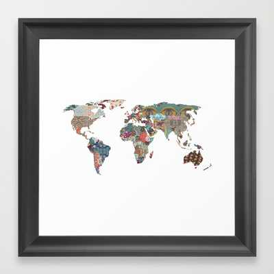 """Louis Armstrong Told Us So - 12"""" X 12"""" - framed - Society6"""