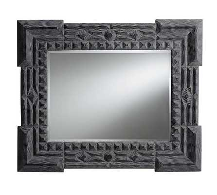 Ken Fulk Tramp Art Mirror - Pottery Barn
