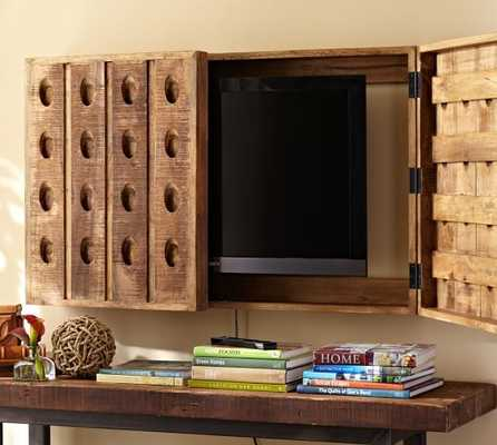 Riddling Rack TV Cover - Pottery Barn