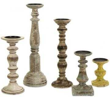 Cain Candle Holders - Set of 5 - Home Decorators