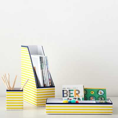 Printed Desk Accessories - Pottery Barn Teen