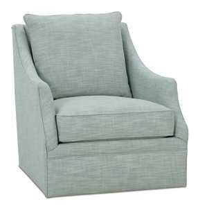Kara Swivel Chair - One Kings Lane