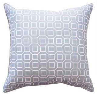 Geo Outdoor Pillow - One Kings Lane