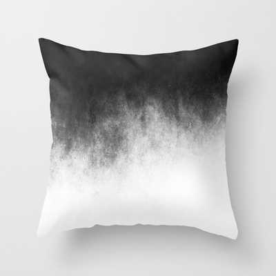 Abstract V THROW PILLOW/ INDOOR COVER - Society6