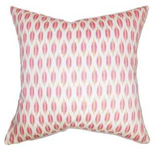 Ebb Web Cotton Pillow - One Kings Lane