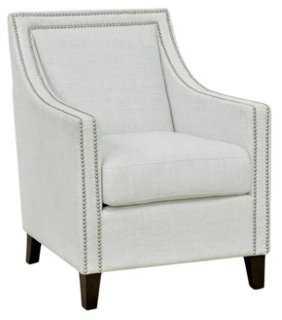 Westfield Club Chair, Ivory - One Kings Lane
