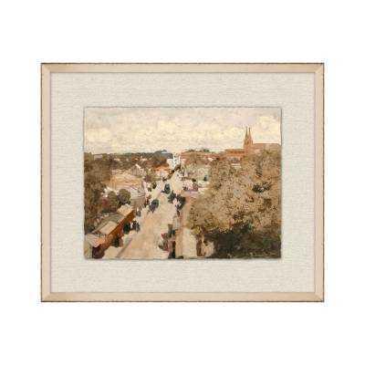 "Foire au Wall 25""W x 21""H framed Art - Frontgate"