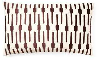Jai 14x20 Embroidered Pillow - One Kings Lane