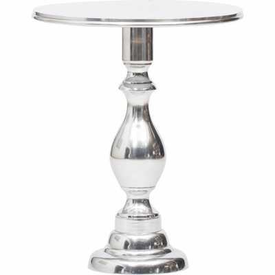 Dorset Aluminum Side Table - High Fashion Home