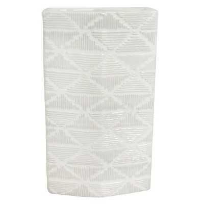 """Nate Berkusâ""""¢ Large White Textured Ceramic Vase - Target"""