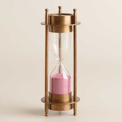 Sand Timer with Compass - World Market/Cost Plus