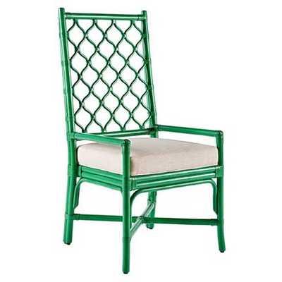 Selamat Ambrose Arm Chair-Parsley - Candelabra