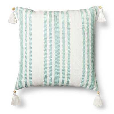 "Threshold â""¢ Woven Stripe Throw Pillow - Target"