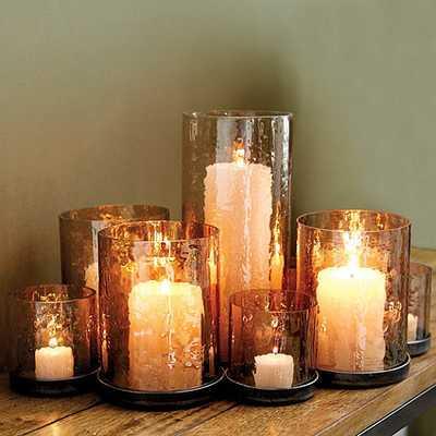 Lustered Glass Candleholder - Ballard Designs